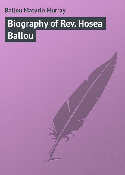 Ballou Maturin Murray Biography of Rev. Hosea Ballou ballou maturin murray due west or round the world in ten months