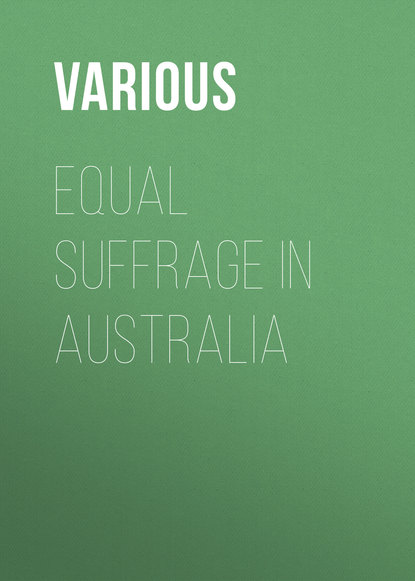 Equal Suffrage in Australia