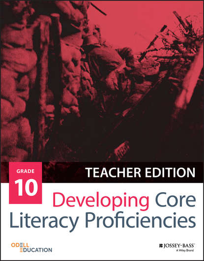 Odell Education Developing Core Literacy Proficiencies, Grade 10 sarah tantillo literacy and the common core recipes for action