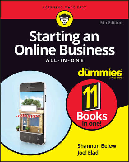 Joel Elad Starting an Online Business All-in-One For Dummies colin barrow starting and running a business all in one for dummies