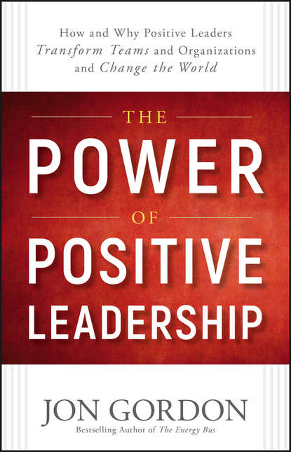 Jon Gordon The Power of Positive Leadership. How and Why Positive Leaders Transform Teams and Organizations and Change the World the road to a positive life