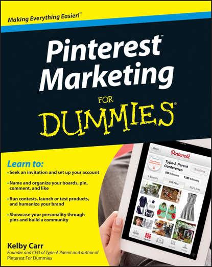 Kelby Carr Pinterest Marketing For Dummies