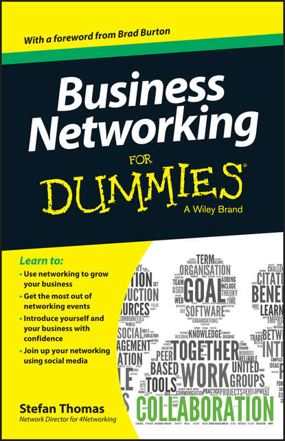 Stefan Thomas Business Networking For Dummies bill hughes getting a networking job for dummies