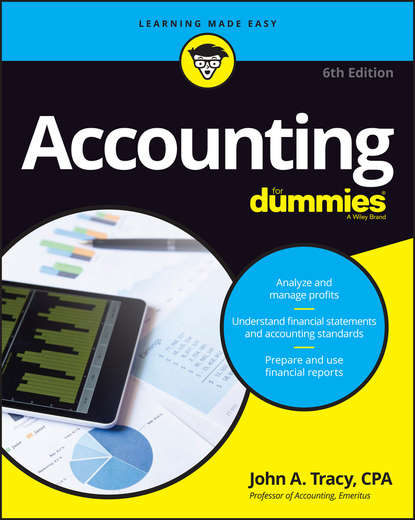 John Tracy A. Accounting For Dummies john tracy a accounting for dummies