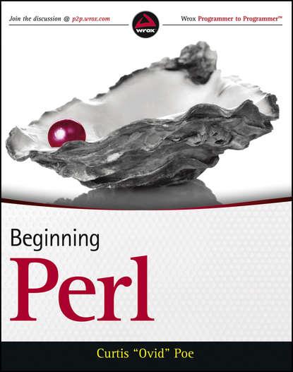 Curtis Poe Beginning Perl perl