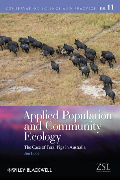 Jim Hone Applied Population and Community Ecology. The Case of Feral Pigs in Australia factors affecting the ecology of suspension feeders