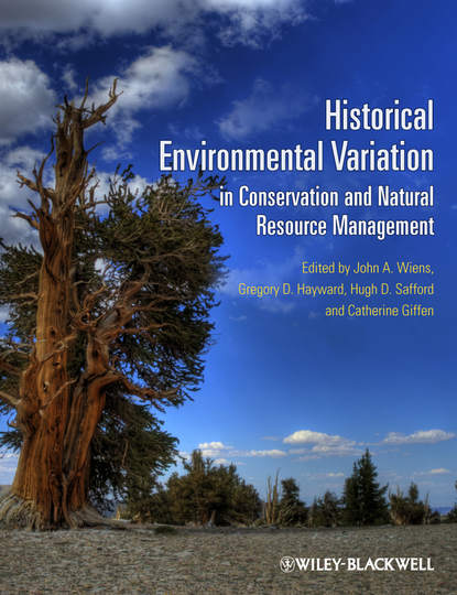 Catherine Giffen Historical Environmental Variation in Conservation and Natural Resource Management change in land use