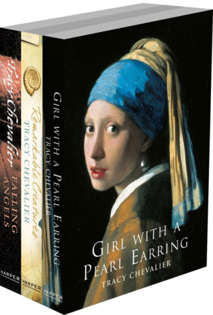 Tracy Chevalier 3-Book Collection: Girl With a Pearl Earring, Remarkable Creatures, Falling Angels фото