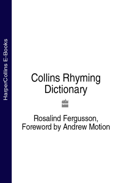 Rosalind Fergusson Collins Rhyming Dictionary collins john churton said the rose and other lyrics