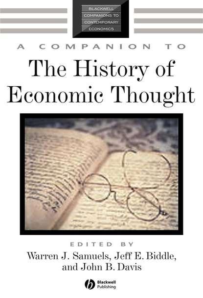 Warren Samuels J. A Companion to the History of Economic Thought daniel mcmillen p a companion to urban economics