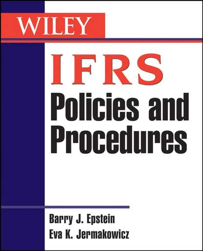 Barry Epstein J. IFRS Policies and Procedures barry epstein j ifrs policies and procedures