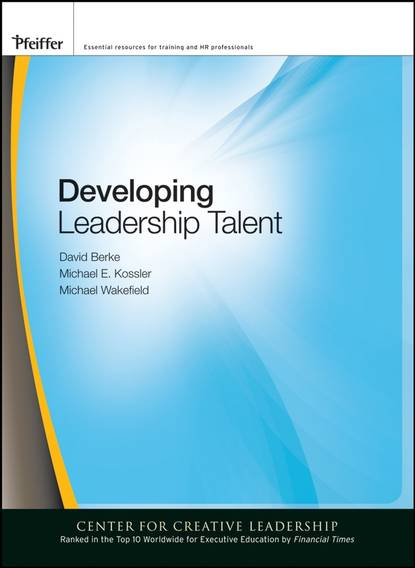 David Berke Developing Leadership Talent david berke developing leadership talent