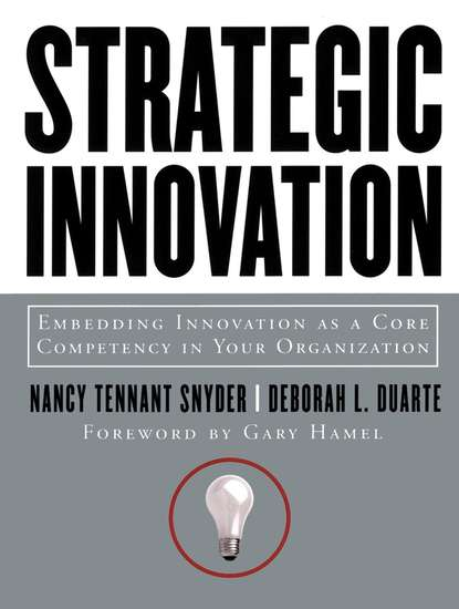 Nancy Snyder Tennant Strategic Innovation robert s kaplan the strategy focused organization
