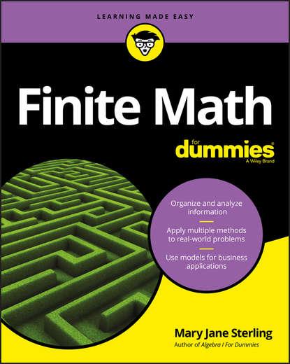 Группа авторов Finite Math For Dummies недорого