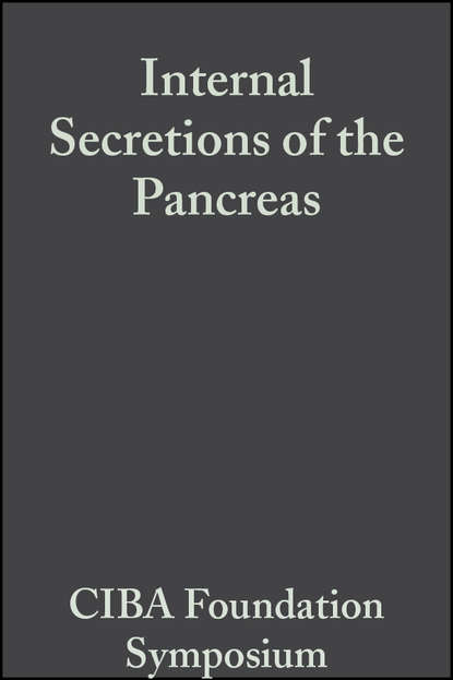 CIBA Foundation Symposium Internal Secretions of the Pancreas, Volume 9 ciba foundation symposium the physiological basis of starling s law of the heart