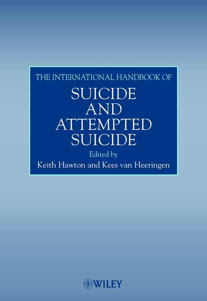 Keith Hawton The International Handbook of Suicide and Attempted Suicide the oxford handbook of suicide and self injury