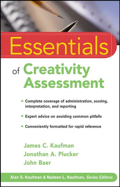John Baer Essentials of Creativity Assessment cecil reynolds r essentials of assessment with brief intelligence tests