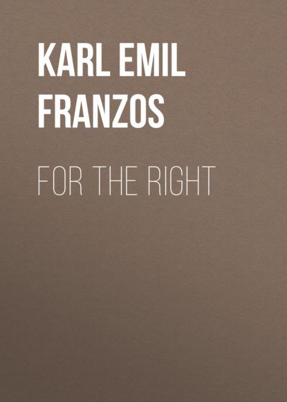 Karl Emil Franzos For the Right karl emil franzos reise und kulturbilder aus den vogesen