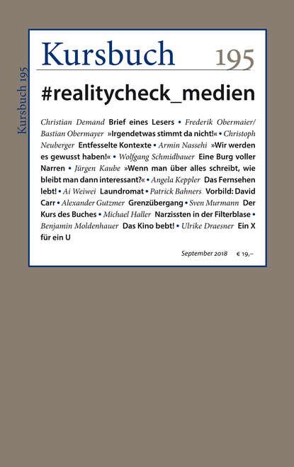 Группа авторов Kursbuch 195