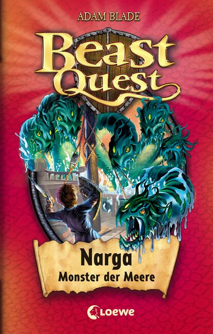 Фото - Adam Blade Beast Quest 15 – Narga, Monster der Meere franjo terhart der wolf der meere