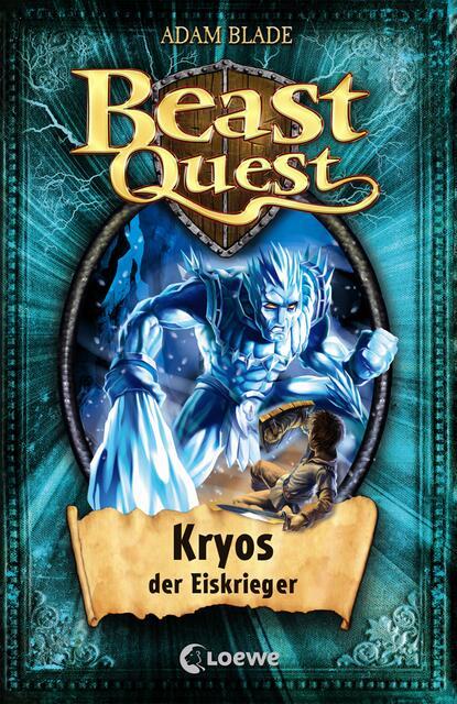 Adam Blade Beast Quest 28 – Kryos, der Eiskrieger недорого