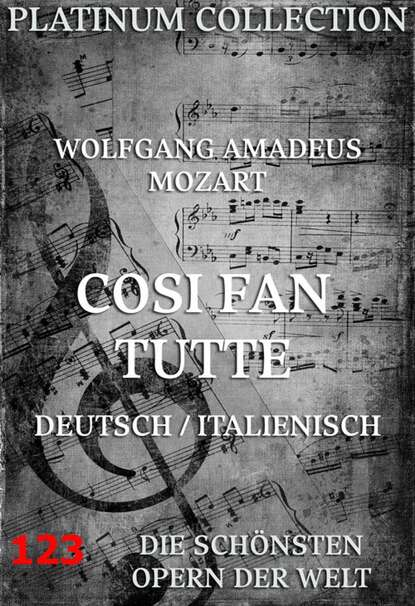 Wolfgang Amadeus Mozart Cosi Fan Tutte karl barth wolfgang amadeus mozart