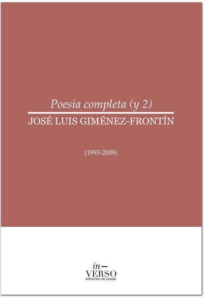 José Luis Giménez-Frontín Poesía completa 2 estanislao giménez corte oceánica
