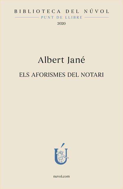 Albert Jané Els aformismes del notari la grande chapelle albert recasens la grande chapelle albert recasens antonio soler obra vocal en latin vocal works in latin