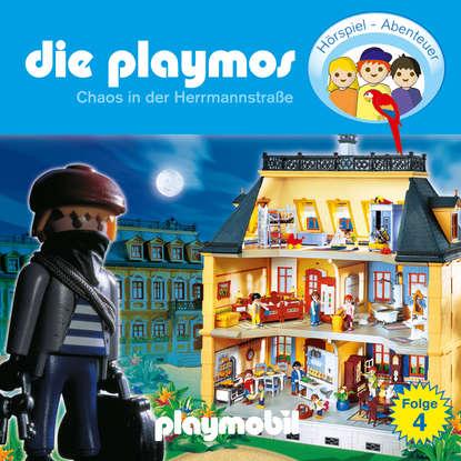 Simon X. Rost Die Playmos - Das Original Playmobil Hörspiel, Folge 4: Chaos in der Herrmannstrasse simon x rost die playmos das original playmobil hörspiel folge 4 chaos in der herrmannstrasse