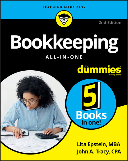 Lita Epstein Bookkeeping All-in-One For Dummies недорого