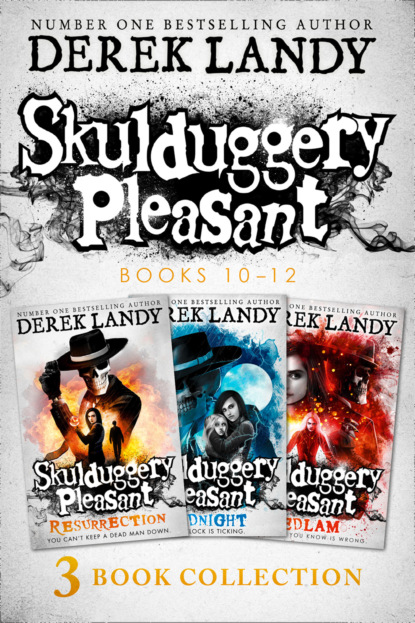 Derek Landy Skulduggery Pleasant: Books 10 - 12 недорого
