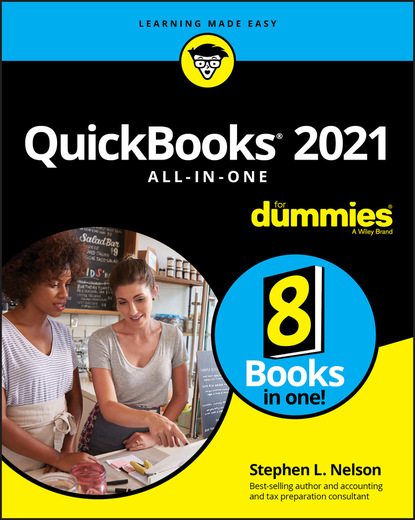 Stephen L. Nelson QuickBooks 2021 All-in-One For Dummies недорого