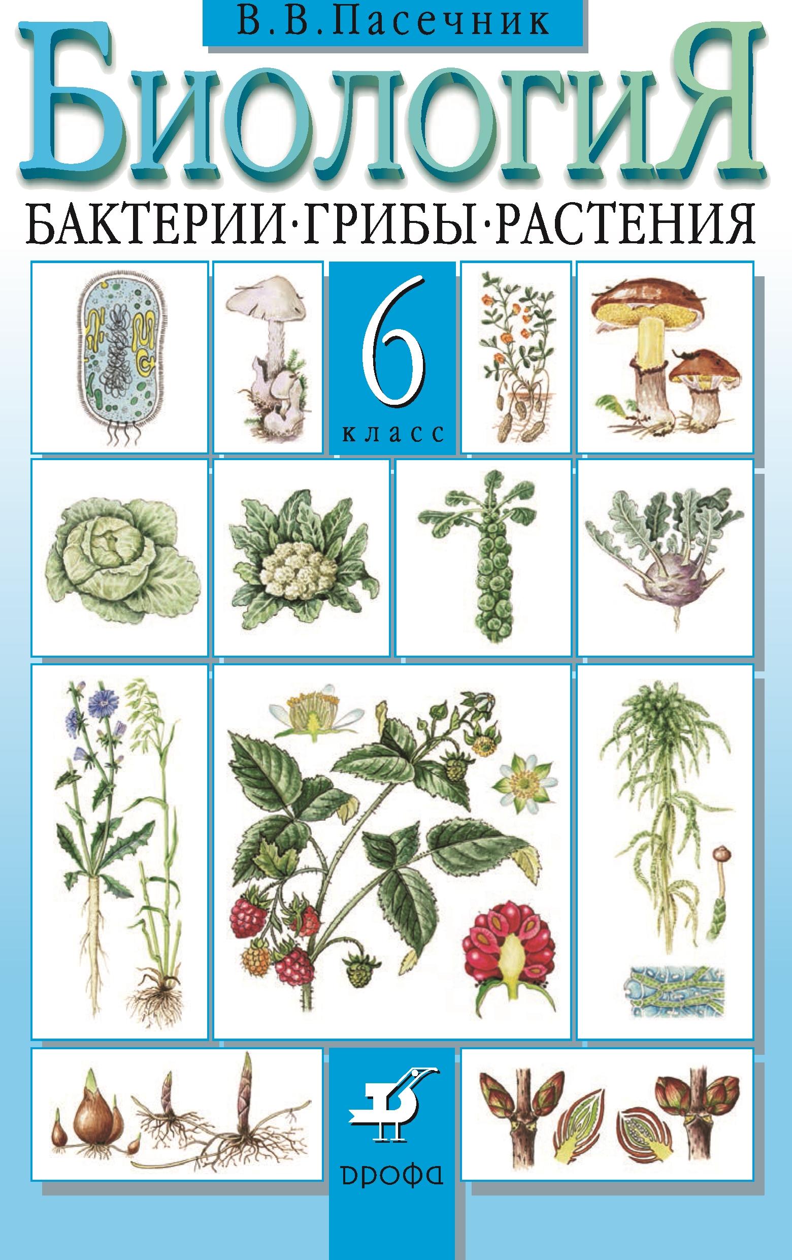 Биология. Бактерии, грибы, растения.6 класс