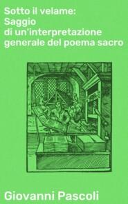 Sotto il velame: Saggio di un\'interpretazione generale del poema sacro