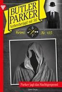 Butler Parker 185 – Kriminalroman
