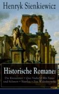 Historische Romane: Die Kreuzritter + Quo Vadis? + Mit Feuer und Schwert + Sintflut + Pan Wolodyjowski + Auf dem Felde der Ehre
