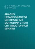 Анализ независимости центральных банков РФ, стран СНГ и Восточной Европы