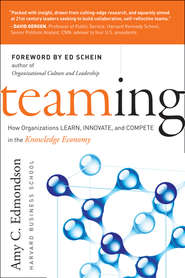 Teaming. How Organizations Learn, Innovate, and Compete in the Knowledge Economy