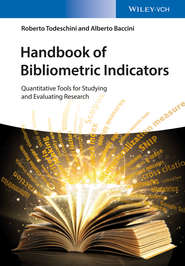 Handbook of Bibliometric Indicators
