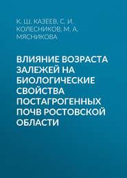 Влияние возраста залежей на биологические свойства постагрогенных почв Ростовской области