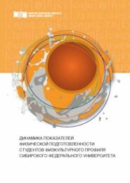Динамика показателей физической подготовленности студентов физкультурного профиля Сибирского федерального университета